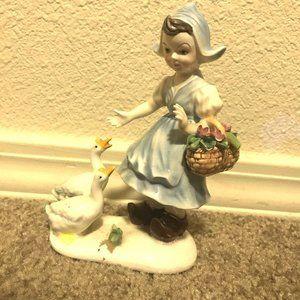1992 Antique Porcelain Girl